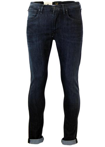 LEE LUKE RETRO INDIE SLIM TAPERED JEANS RAVEN BLUE