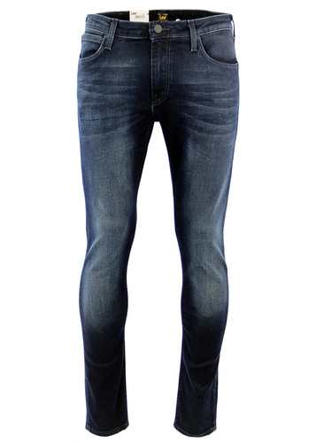 LEE MALONE RETRO INDIE SKINNY DARK SHADOW JEANS