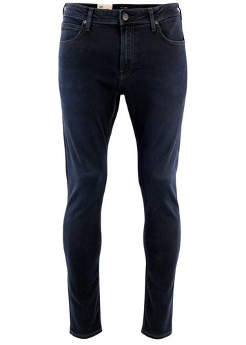 LEE MALONE RETRO MOD RAVEN BLUE SKINNY DENIM JEANS
