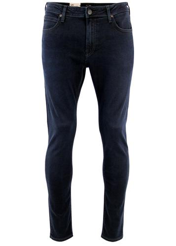 Malone LEE Retro Mod Raven Blue Skinny Denim Jeans