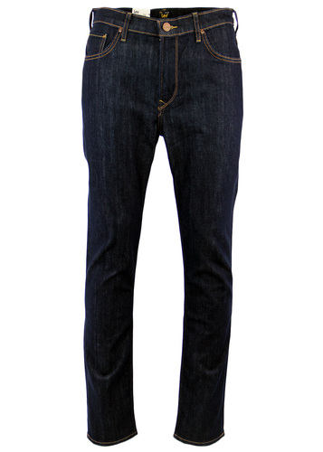 LEE RIDER RETRO INDIE SLIM LEG DENIM JEANS RINSE
