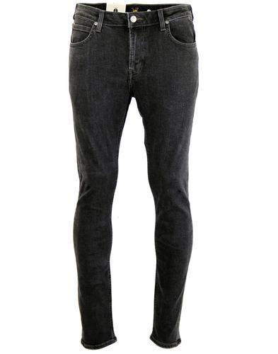 Malone LEE Retro Indie Mod Skinny Drainpipe Jeans