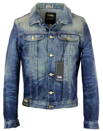 LOIS X PETER WERTH 1970S DENIM JACKET BLUE
