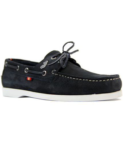 LUKE 1977 FRIGATE RETRO SIXTIES SUEDE BOAT SHOES