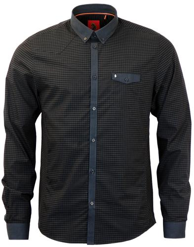 LUKE 1997 JAN THE MAN GINGHAM RETRO MOD SHIRT