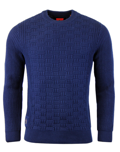 Luke 1977 Top Rod knitted jumper Midnight