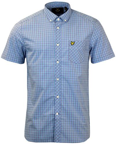 LYLE & SCOTT Retro Mod 60s Micro Check Shirt