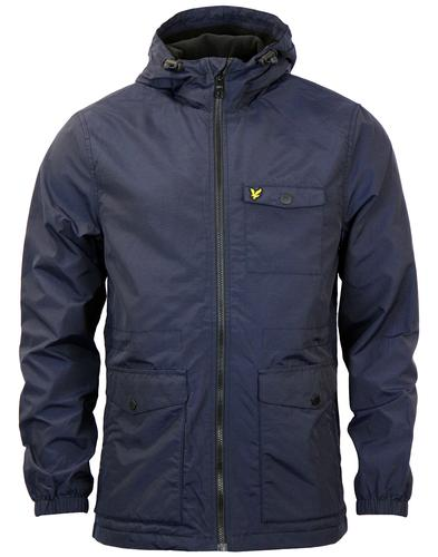 LYLE & SCOTT MICRO FLEECE CASUAL PARKA JACKET