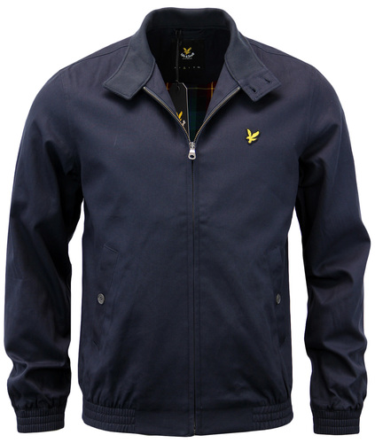 LYLE & SCOTT RETRO MOD SIXTIES HARRINGTON JACKET