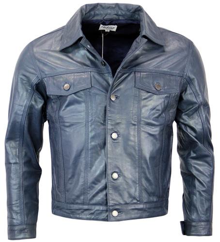Badlands MADCAP ENGLAND Retro Leather Jacket (DB)