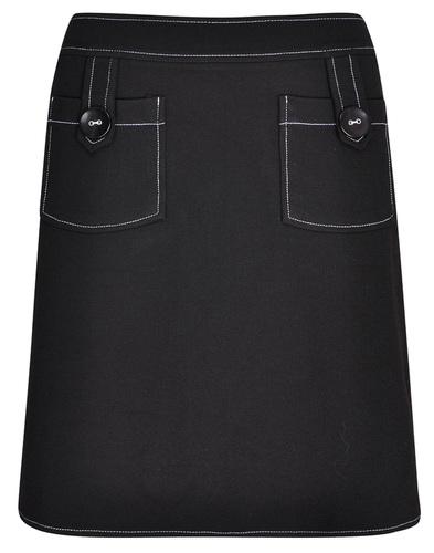 Pearl MADEMOISELLE YEYE Contrast Stitch Mini Skirt