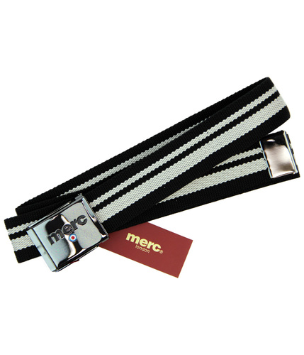 MERC BELOE RETRO MOD INDIE STRIPE MENS BELT