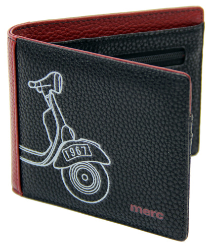 MERC PRESTON RETRO MOD 60S SCOOTER WALLET