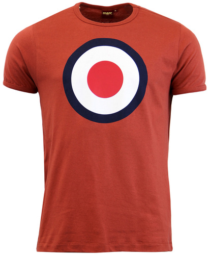 MERC TICKET RETRO MOD 60S TARGET POP ART T-SHIRT