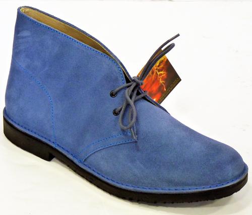 MERC 'Desert Boots' Mens Retro Mod Suede Boots PB