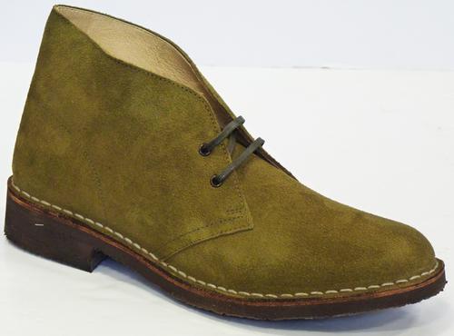 MERC 'Desert Boots' Mens Retro Mod Suede Boots G
