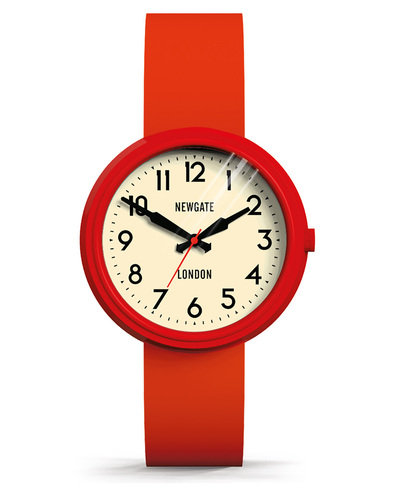 Newgate the electric watch red