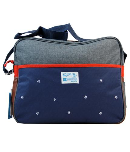 ORIGINAL PENGUIN ANGONT RETRO MOD MESSENGER BAG