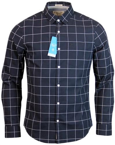 ORIGINAL PENGUIN RETRO MOD WINDOWPANE CHECK SHIRT