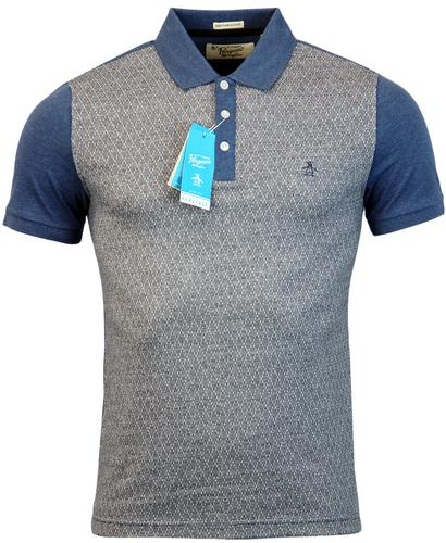 ORIGINAL PENGUIN DESNET MOD DIAMOND JACQUARD POLO