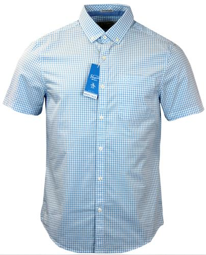 ORIGINAL PENGUIN RETRO MOD CORE GINGHAM SHIRT