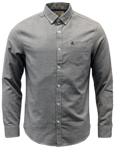 Jaspe ORIGINAL PENGUIN Mens Two Tone Oxford Shirt