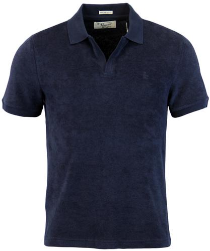 ORIGINAL PENGUIN SWING RETRO MOD TOWELLING POLO