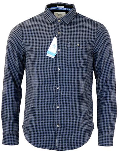 ORIGINAL PENGUIN CLUE DOUBLE FACED GINGHAM SHIRT