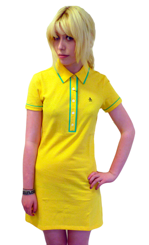 ORIGINAL PENGUIN VERONIA POLO DRESS MOD SIXTIES