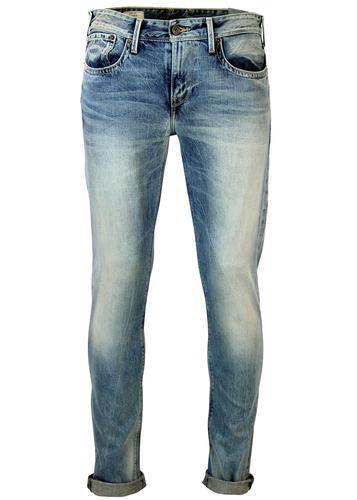 pepe jeans hatch retro mod slim fit jeans. Black Bedroom Furniture Sets. Home Design Ideas