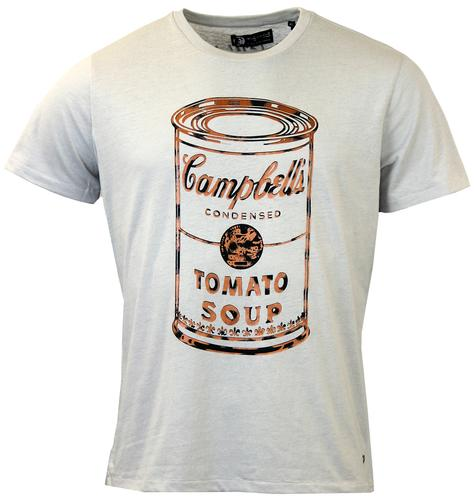 PEPE JEANS ANDY WARHOL SOUP CAN POP ART TEE