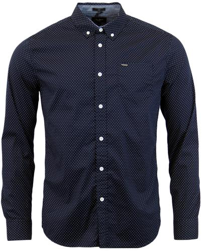 PEPE JEANS LEMON RETRO MOD 60S MICRO DOT SHIRT