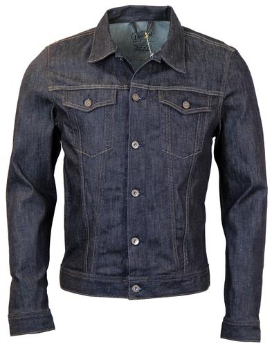 PEPE JEANS BOXTER RETRO MOD DARK DENIM JACKET
