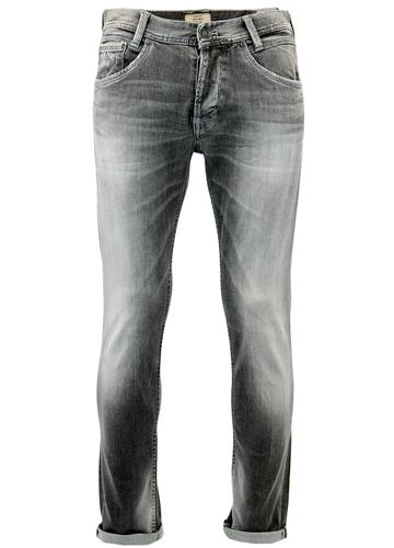 PEPE JEANS MENS SPIKE RETRO TAPERED FIT JEANS