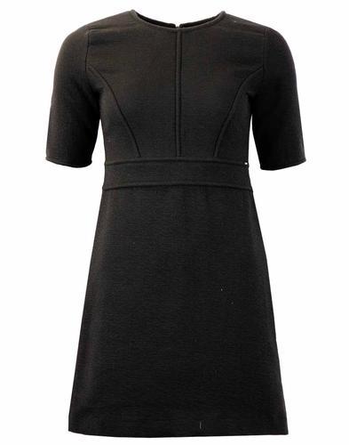 PEPE JEANS RETRO MOD BLACK DRESS