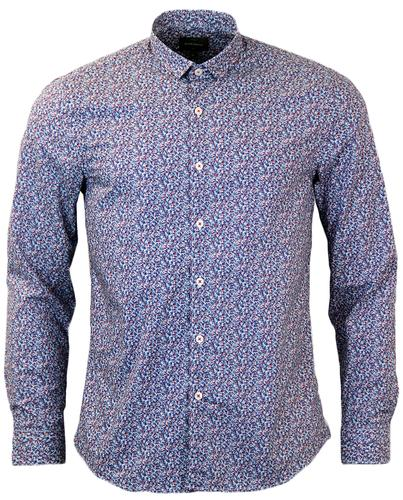 PETER WERTH PORTER RETRO DITSY FLORAL SHIRT