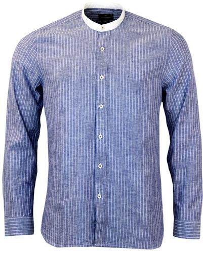 PETER WERTH ESCAPE RETRO INDIE FINE STRIPE SHIRT