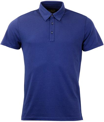 PETER WERTH LINDLEY PICK STITCH RETRO POLO