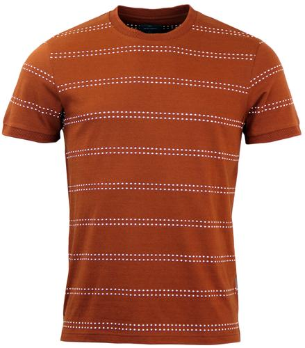 PETER WERTH SEYMOUR RETRO MOD DOT STRIPE TEE