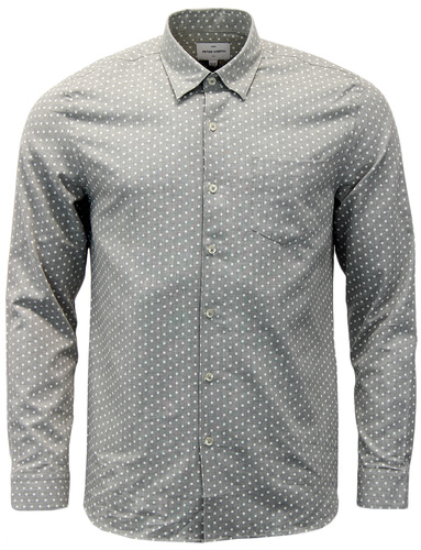 PETER WERTH VENTURE RETRO 60S MOD POLKA DOT SHIRT
