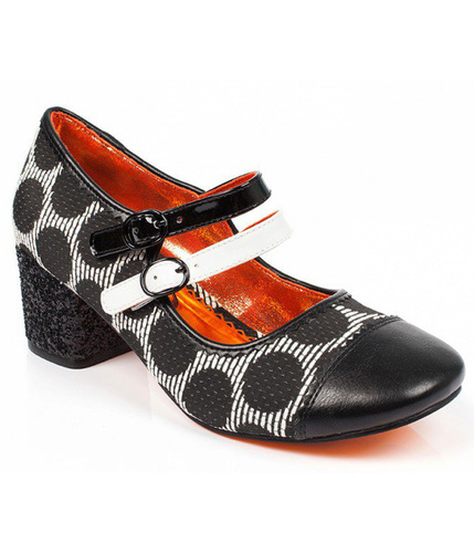 POETIC LICENCE MINI MOD SIXTIES POLKA DOT HEELS