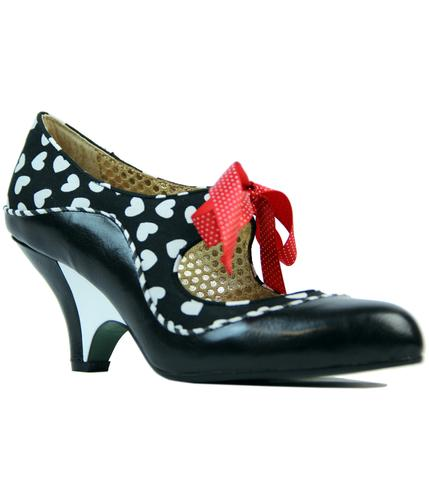 POETIC LICENCE SCHOOLS OUT RETRO LOVE HEART HEELS