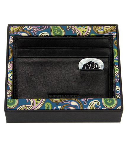 PRETTY GREEN RETRO MOD 60S PAISLEY CARD HOLDER