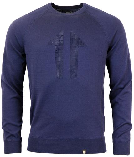 PRETTY GREEN STELFOX THE WHO WAFFLE ARROW JUMPER