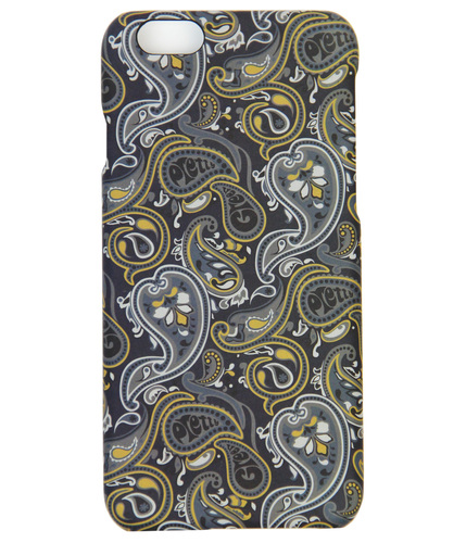 PRETTY GREEN STRETFORD 60S MOD PAISLEY IPHONE CASE