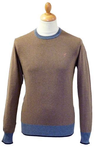 RACING GREEN RETRO MOD JUMPER RETRO SEVENTIES MOD