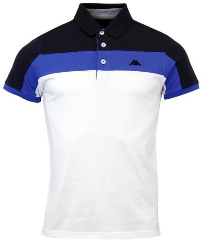 ROBE DI KAPPA OTTER RETRO 80 STRIPE PANEL POLO