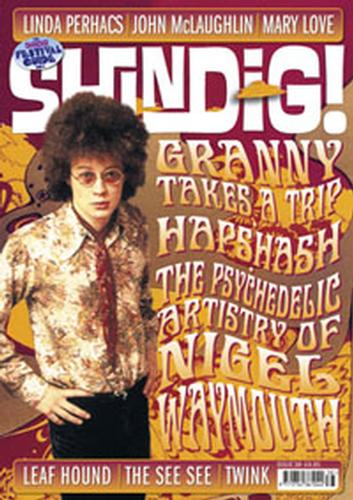 SHINDIG MAGAZINE MOD 60s MUSIC MAG ISSUE 38