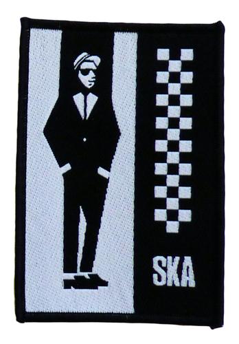 MOD SKA MAN RUDEBOY SEW ON PATCH RETRO MOD 70s