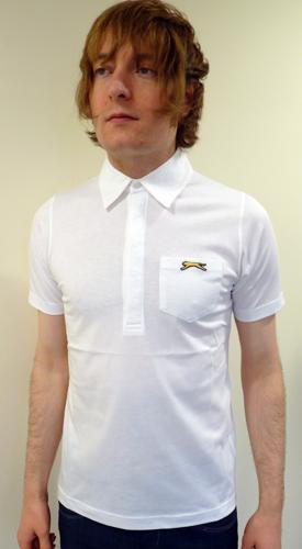 SLAZENGER HERITAGE GOLD Maysie Retro Polo Shirt W